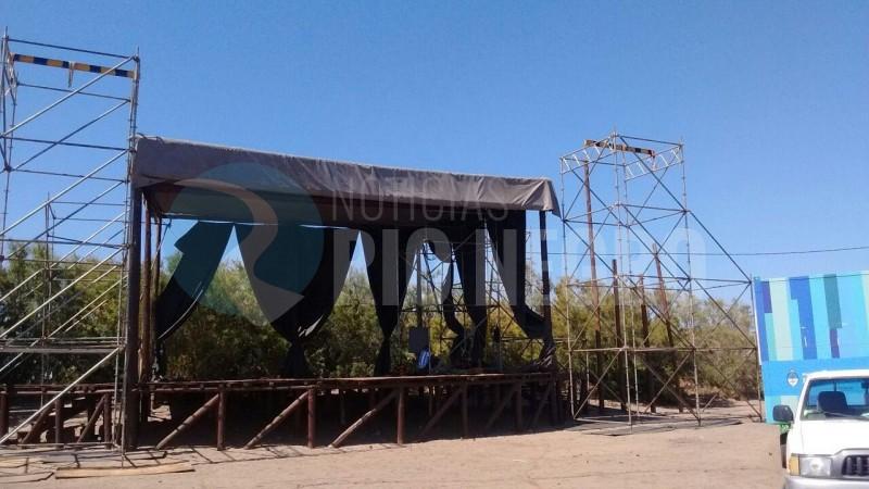 el condor, escenario