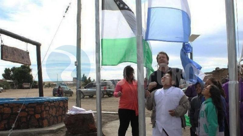 Weretilneck, bandera