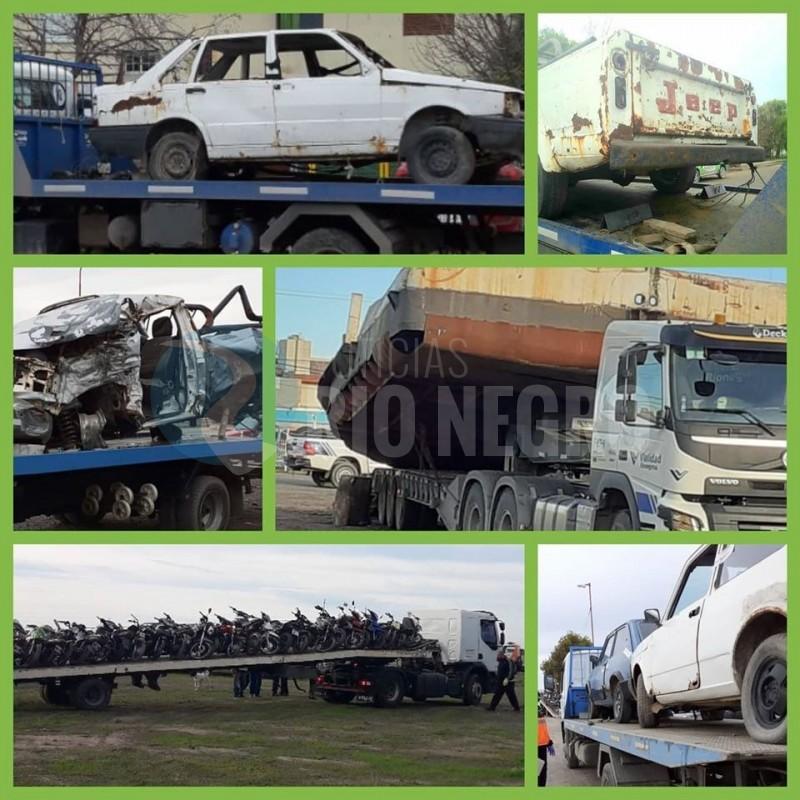autos, motos, vehiculos abandonados