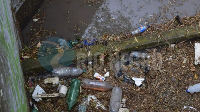 desagües pluviales, basura