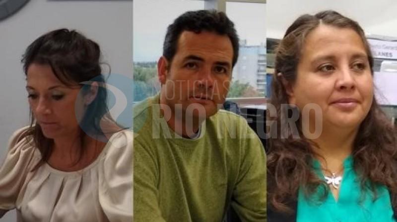 julia fernandez, Claudia Contreras, Juan Pablo Muena