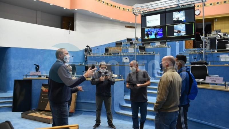 legislatura, sesion virtual, preparativos