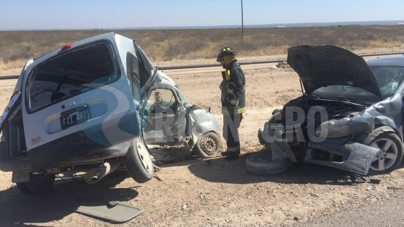 Las Grutas, ACCIDENTE, choque