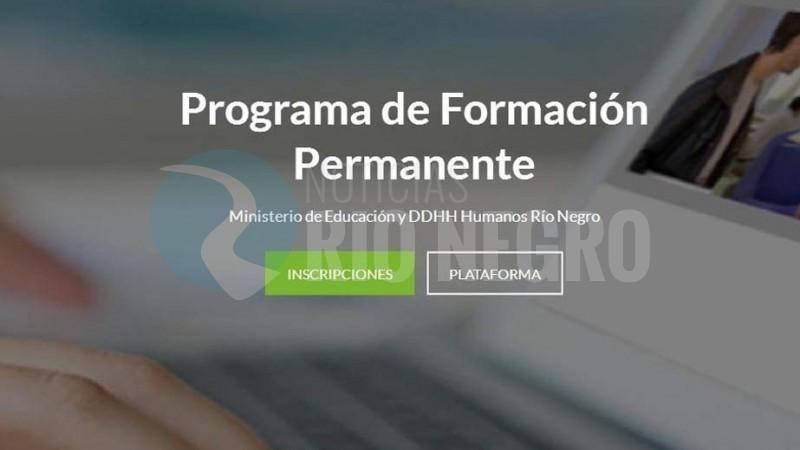 docentes, programa de formacion permanente