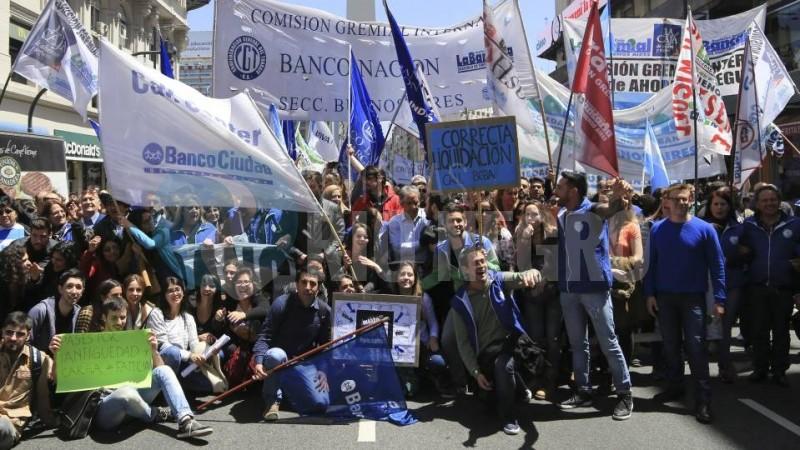 bancarios, manifestacion