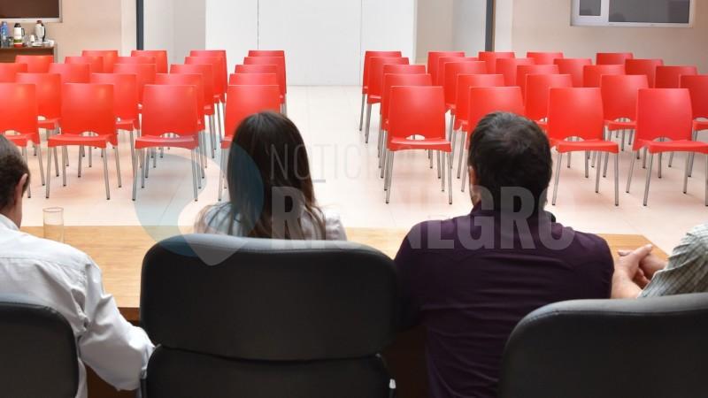 conferencia vacía