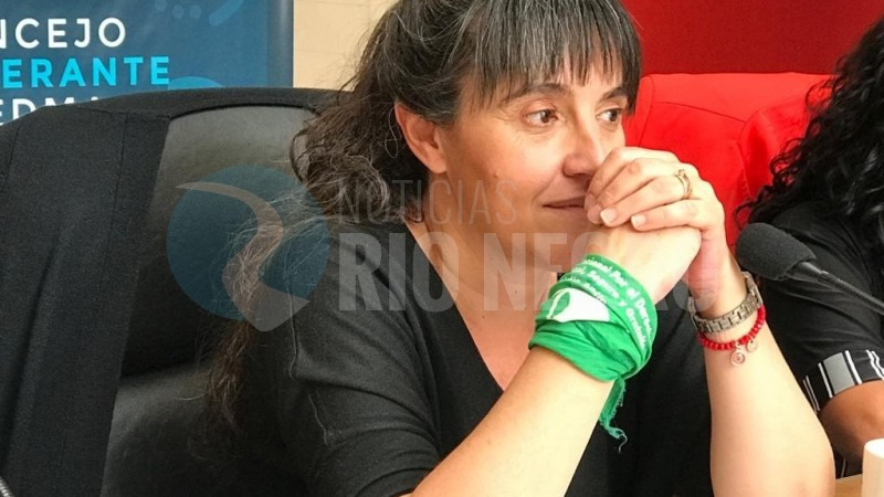 MARICEL CEVOLI, pañuelo verde, aborto legal