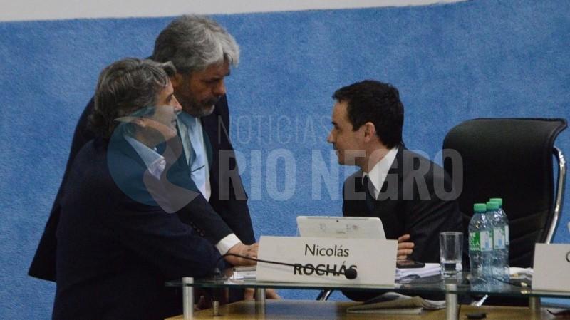 Nicolás Rochás, luis albrieu, Alejandro Ramos Mejía