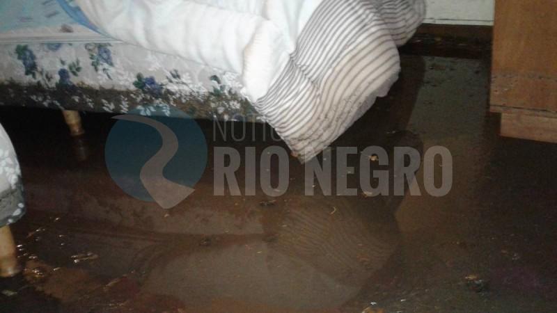 casa inundada