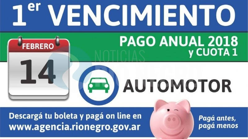 pago anual, automotor