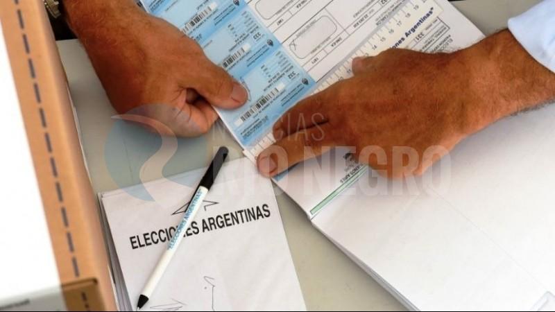 elecciones, autoridades de mesa