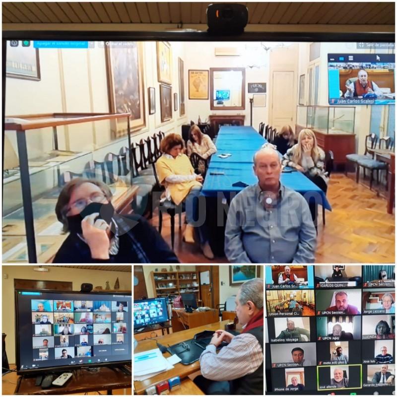 upcn, videoconferencia