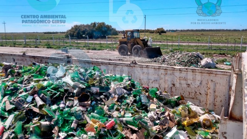 girsu, vidrio reciclado, COTRANVI