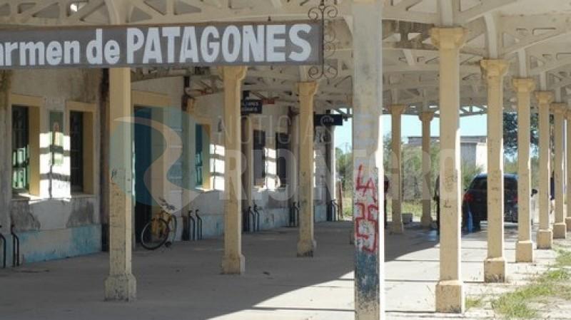 PATAGONES, estacion ferroviaria