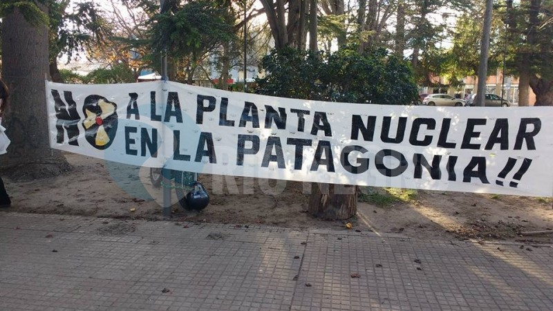 central nuclear, PROTESTA, viedma