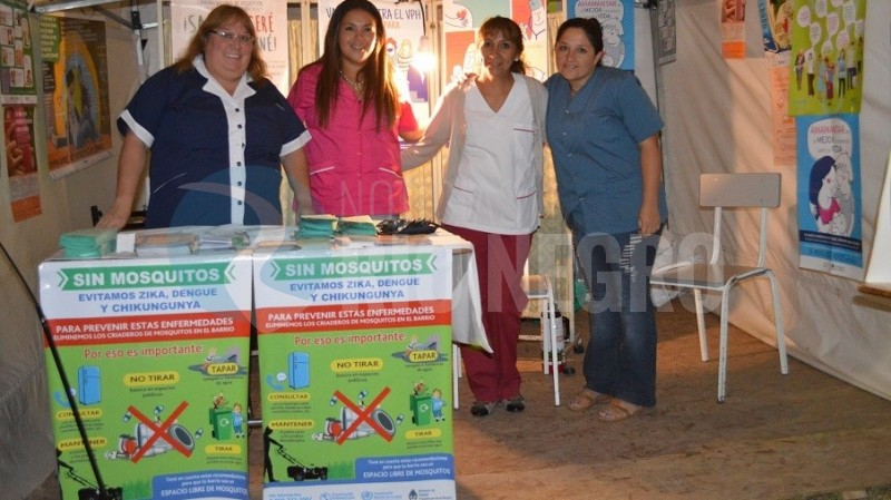 FIESTA DE LA SOBERANIA, salud, stand
