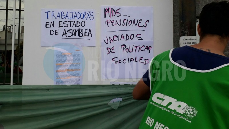 ATE, Ministerio de Desarrollo Social de la Nación, despidos
