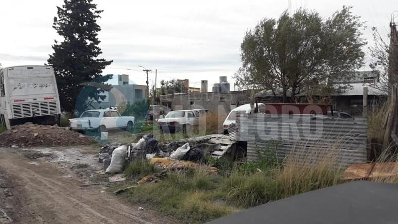 vehiculos abandonados