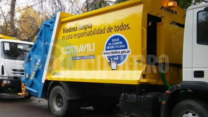 camion, recoleccion de residuos, cotravili