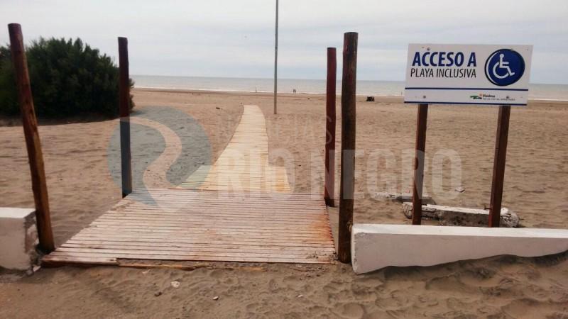 el condor, playa, accesible, inclusiva