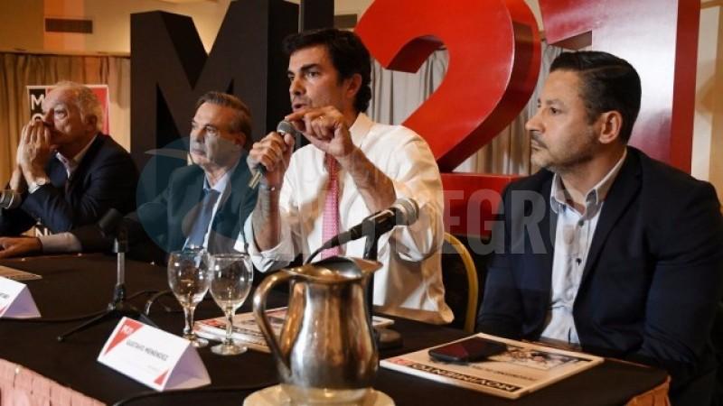 miguel pichetto, Gustavo Menéndez, Juan Manuel Urtubey
