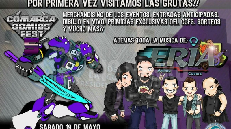 Las Grutas, comics fest 5