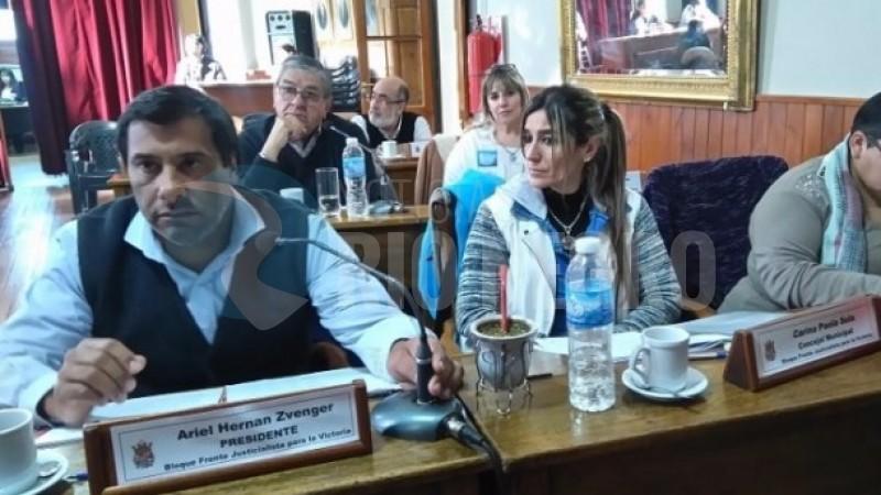 PATAGONES, CONCEJALES, bloque fpv hcd patagones, ARIEL ZVENGER