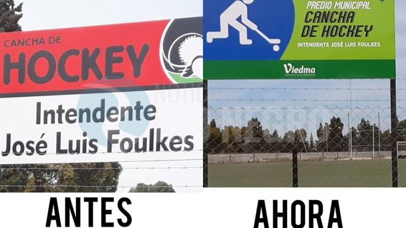 cancha, hockey, jose luis foulkes, cartel