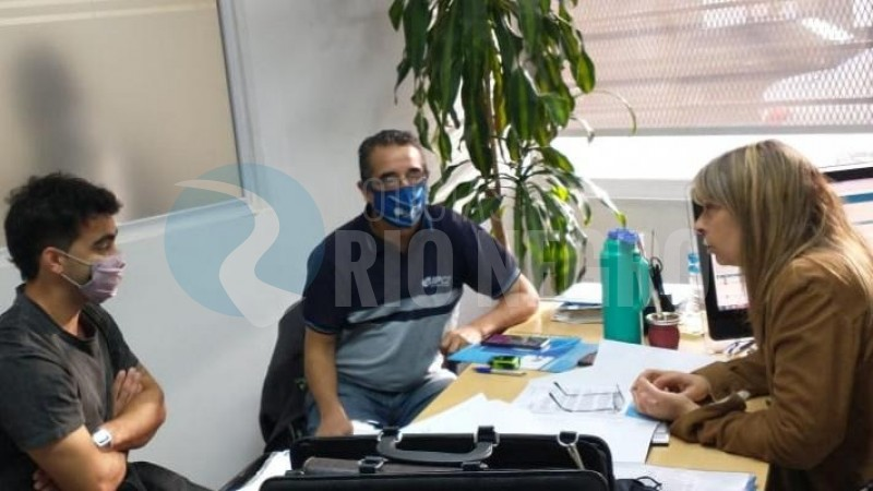 Héctor Barrionuevo, RINA SPINA, secretaria de trabajo