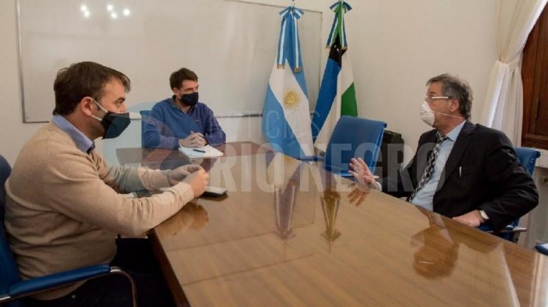 Rodrigo Buteler, jorge crespo, Gastón Pérez Estevan