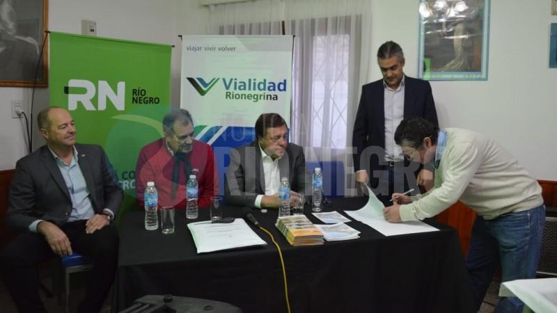 Weretilneck, carlos valeri, mainque, raul grun, Miguel Petricio
