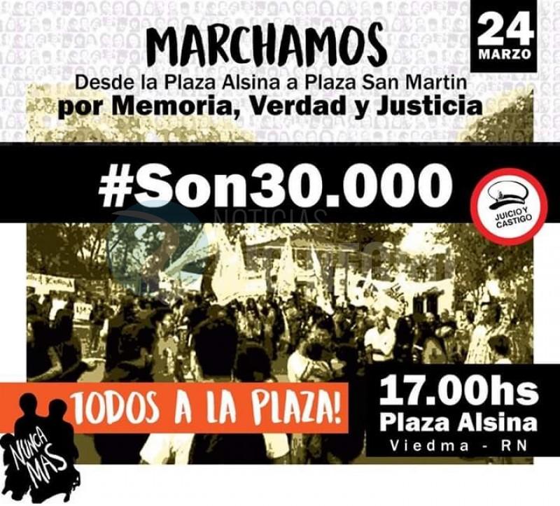 marcha, desaparecidos, 24 de marzo