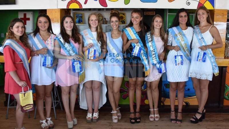 reinas, fiesta nacional del golfo azul