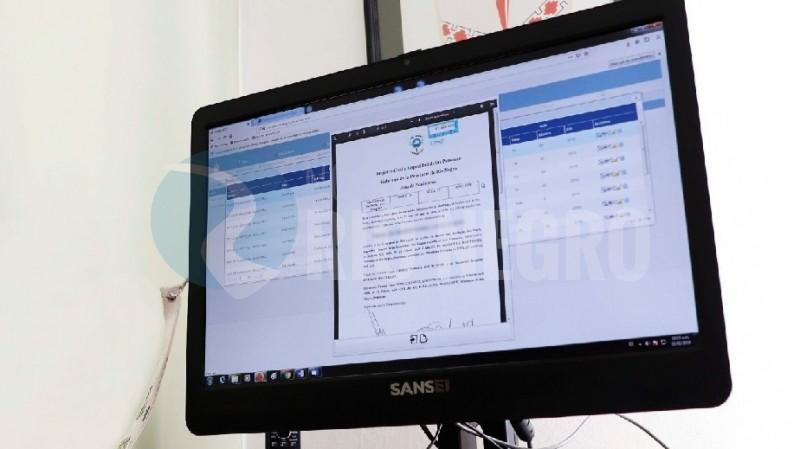 computadora, registro civil