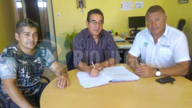 Marcelo Szcygol, Héctor Barrionuevo, Nelson Montes