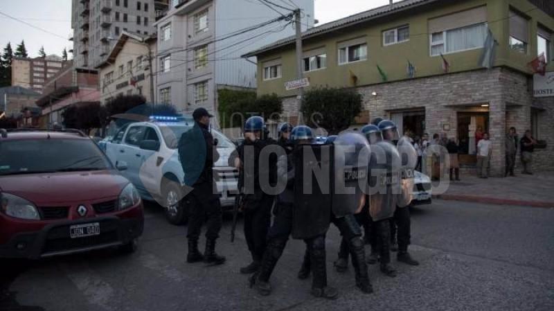 policia, represión