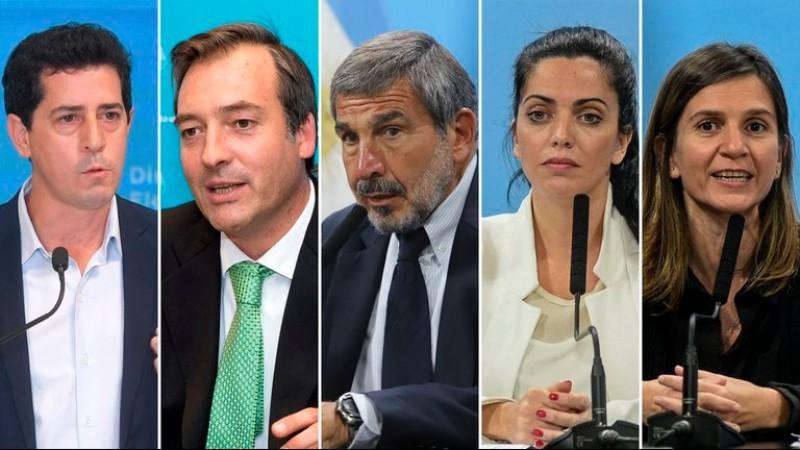wado de pedro, Martin Soria, Roberto Salvarezza, Tristán Bauer, Fernanda Raverta