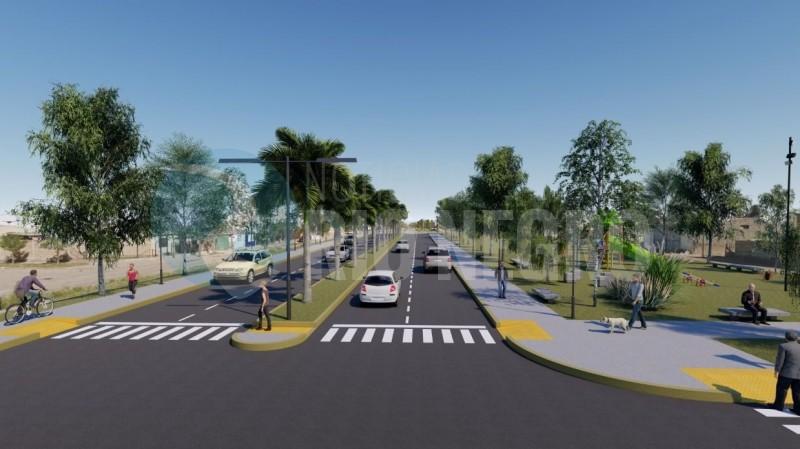 avenida peron, proyecto