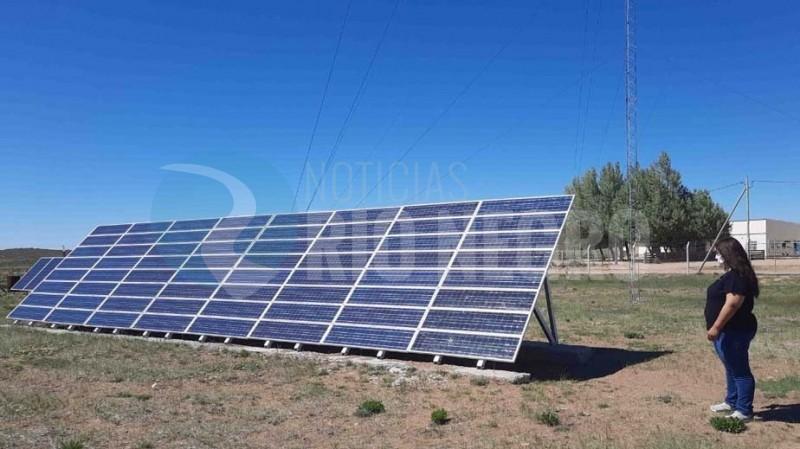 laguna blanca, energia solar