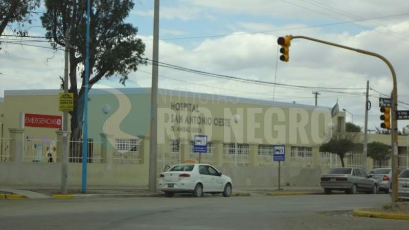 hospital, san antonio oeste