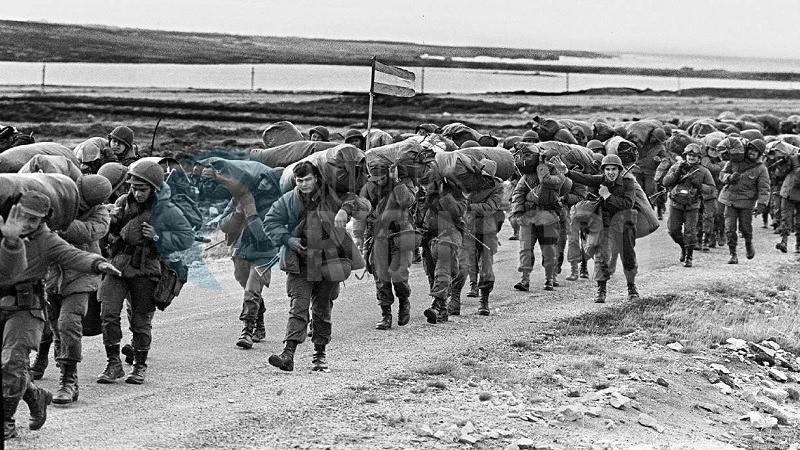 soldados, islas malvinas