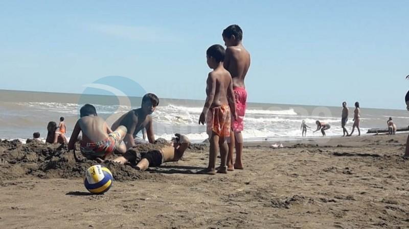el condor, playa, caina