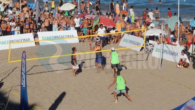 Las Grutas, beach voley