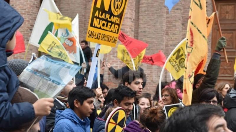 movilizacion, central nuclear