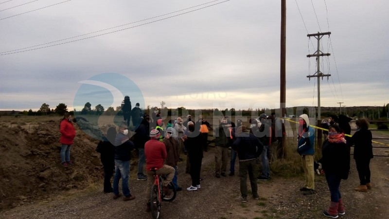 ex ruta 3, PROTESTA, vecin, TERRAPLEN