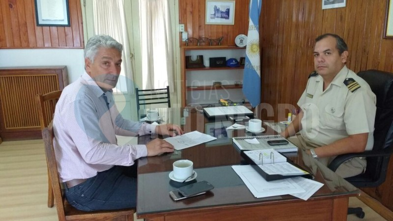 JOSE LUIS ZARA, PREFECTO MARCELO SERRANO