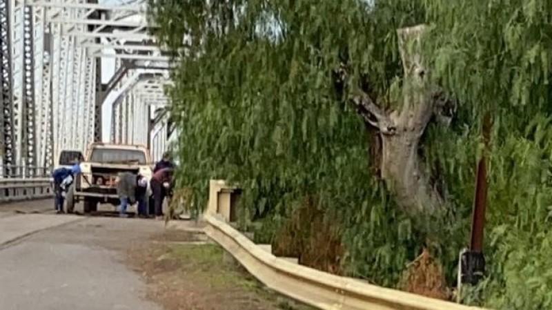 puente ferrocarretero, arreglos