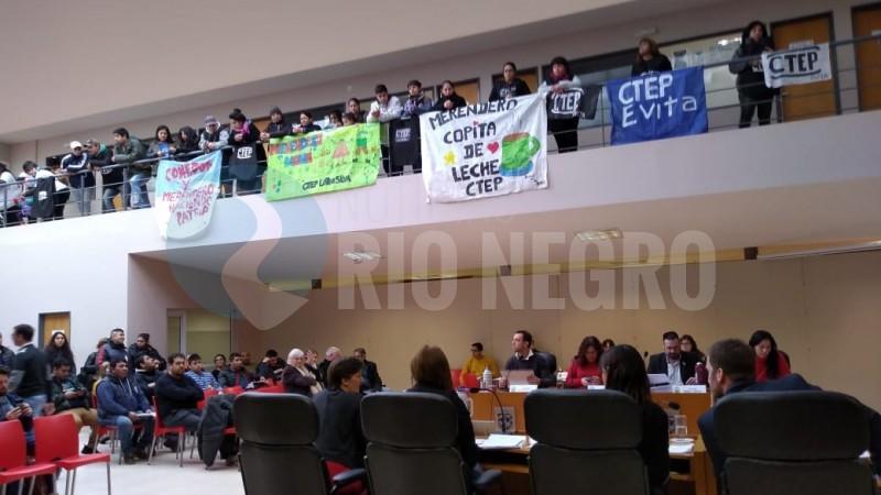 viedma, Concejo Deliberante, emergencia alimentaria