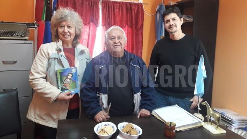 patricio colil, Julia Garabito, Pablo Herrera