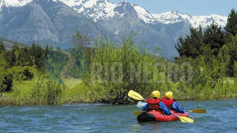 bariloche, kayak